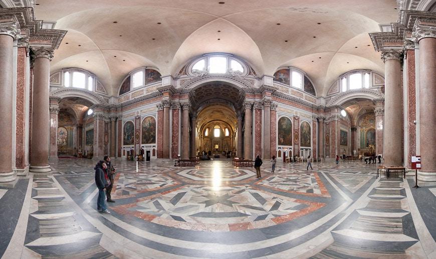 Michelangelo e Vanvitelli Santa Maria degli Angeli e dei Martiri Roma