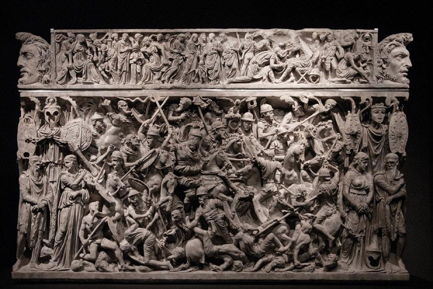 Portonaccio sarcophagus National Roman Museum Rome 2
