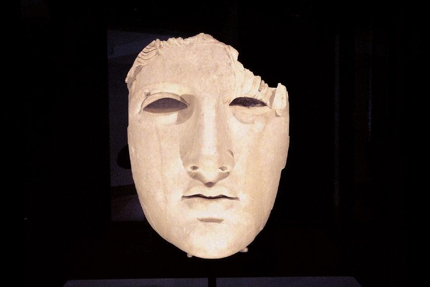 Roman head Palazzo Massimo National Roman Museum Rome