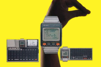 SEIKO UC-2000 (1984) – the dawn of wearable computers