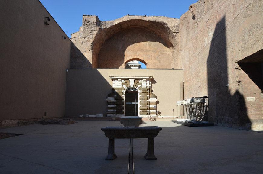 Terme di Diocleziano Rome Diocletian Baths 1