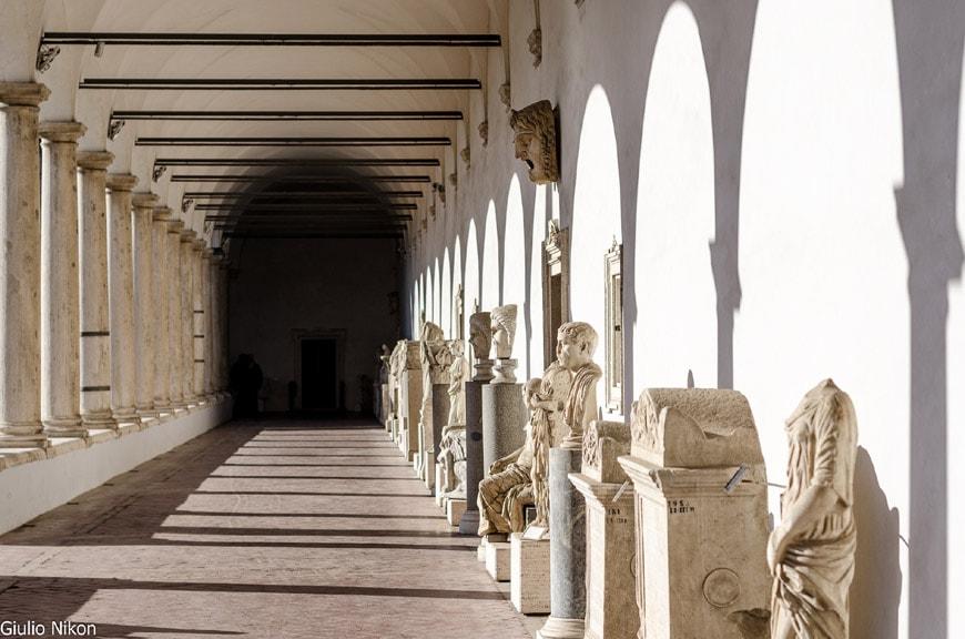 Terme di Diocleziano Rome Diocletian Baths MIchelangelo Cloister 3