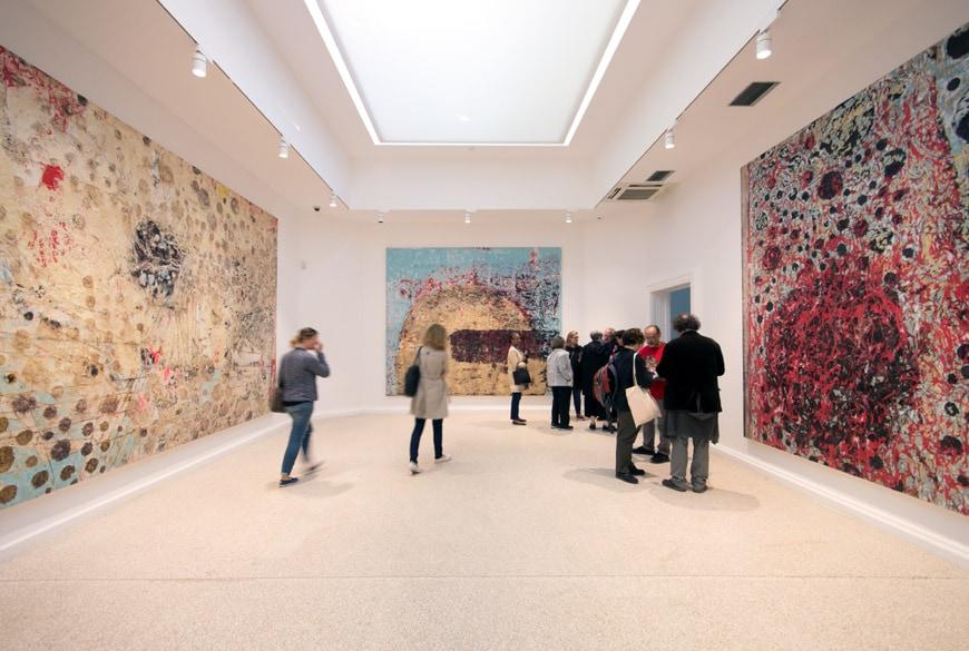 Mark bradford gli stati uniti alla biennale di venezia for Artisti biennale venezia