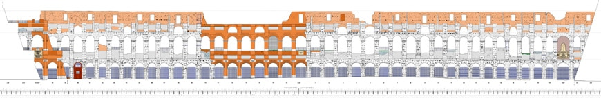 Colosseum-Flavian-Amphitheater-Rome-elevation-internal