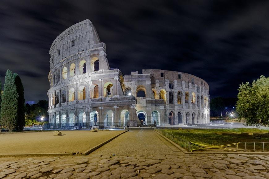Colosseum Flavian Amphitheater Rome exterior 1