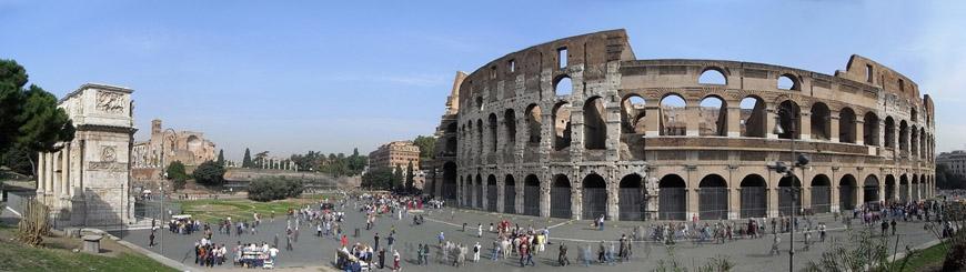Colosseum-Flavian-Amphitheater-Rome-exterior-4