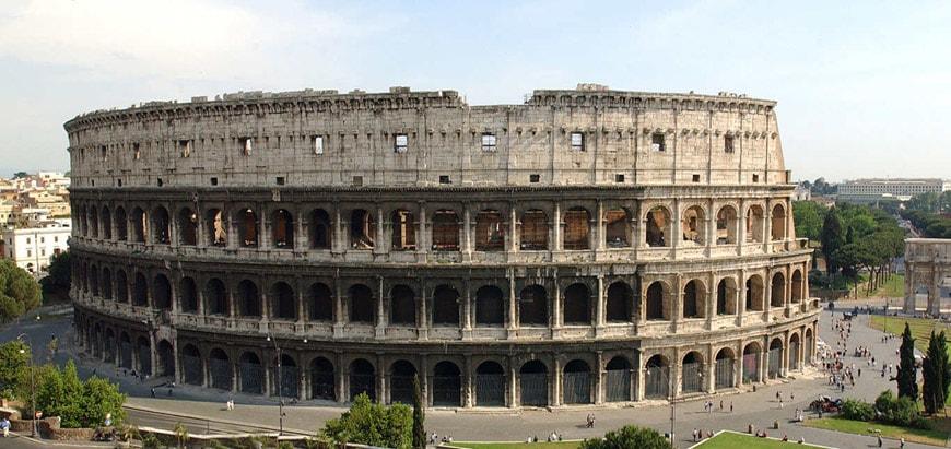 Colosseum-Flavian-Amphitheater-Rome-exterior-6
