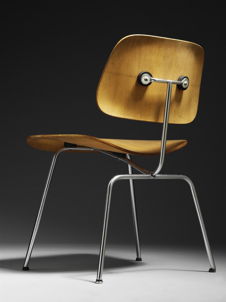 DCM-chair-Charles-and-Ray-Eames-1947-Victoria-and-Albert-Museum-London