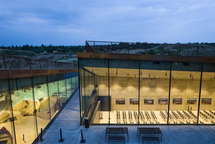 BIG Bjarke Ingels TIRPITZ Bunker Museum 15