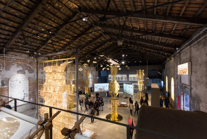 China pavilion Venice Art Biennale 2017 4L Inexhibit