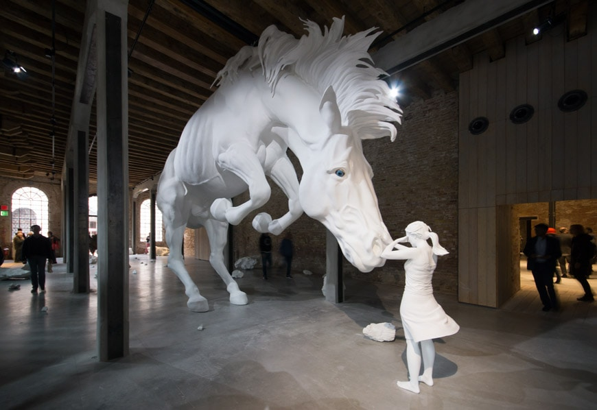 Claudia Fontes The Horse Problem sculpture Argentina Venice Art Biennale 2017 Inexhibit 4L