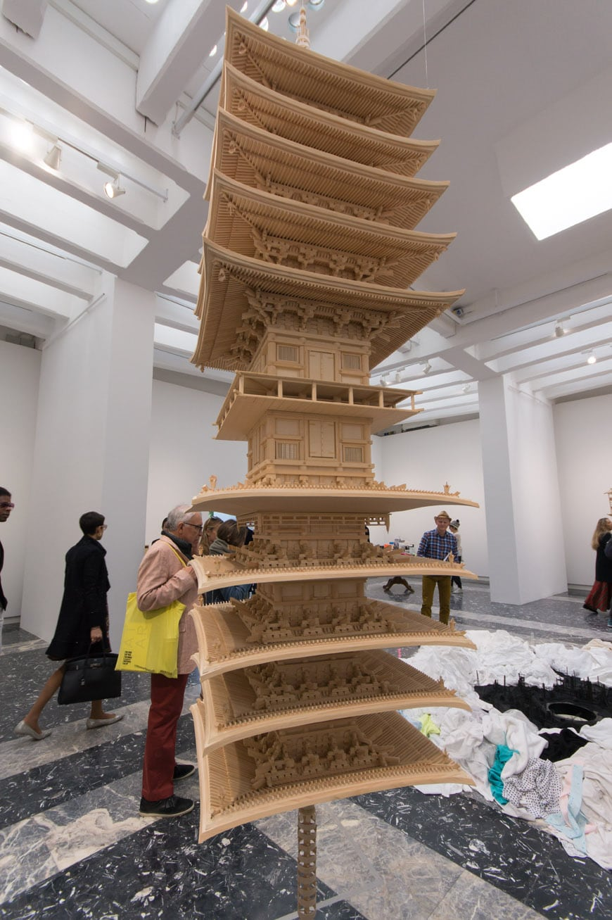 Takahiro Iwasaki reflection model Lapis Lazuli Pavilion Japan Venice Art Biennale 2017 Inexhibit L