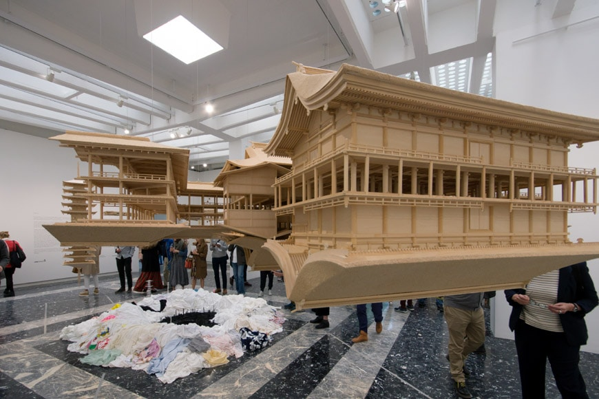 Takahiro Iwasaki reflection model Ship of Theseus Pavilion Japan Venice Art Biennale 2017 2L Inexhibit