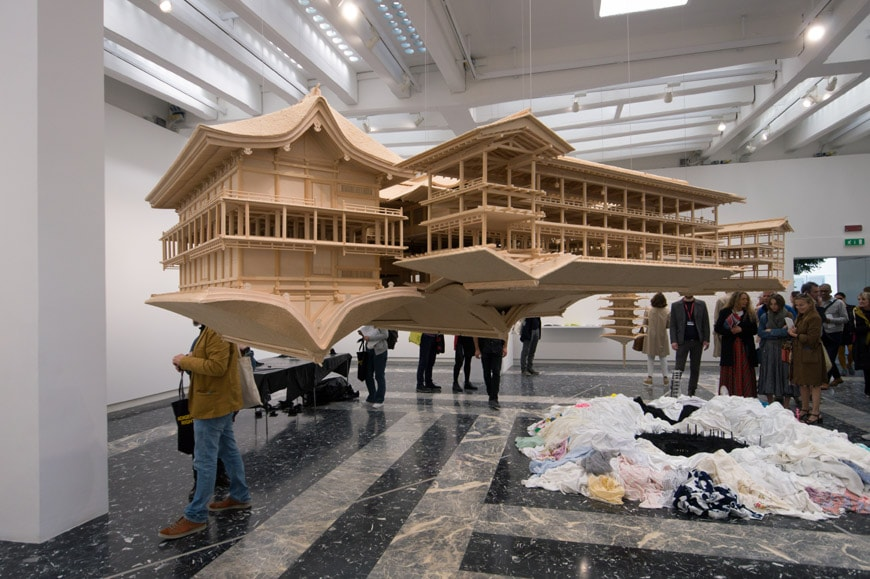 Takahiro Iwasaki reflection model Ship of Theseus Pavilion Japan Venice Art Biennale 2017 3L Inexhibit