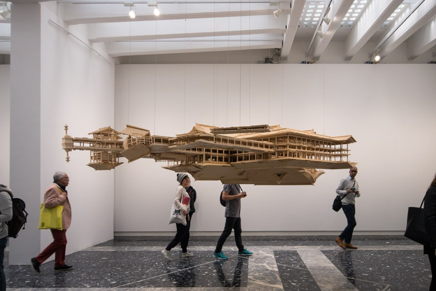 Takahiro Iwasaki reflection model Ship of Theseus Pavilion Japan Venice Art Biennale 2017 Inexhibit L