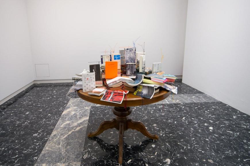 Takahiro Iwasaki tectonic model Flow Pavilion Japan Venice Art Biennale 2017 L Inexhibit
