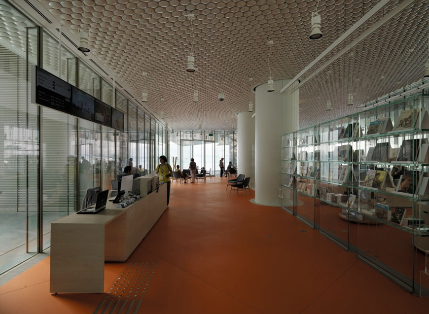 Centro Botín Santander Renzo Piano Building Workshop lobby