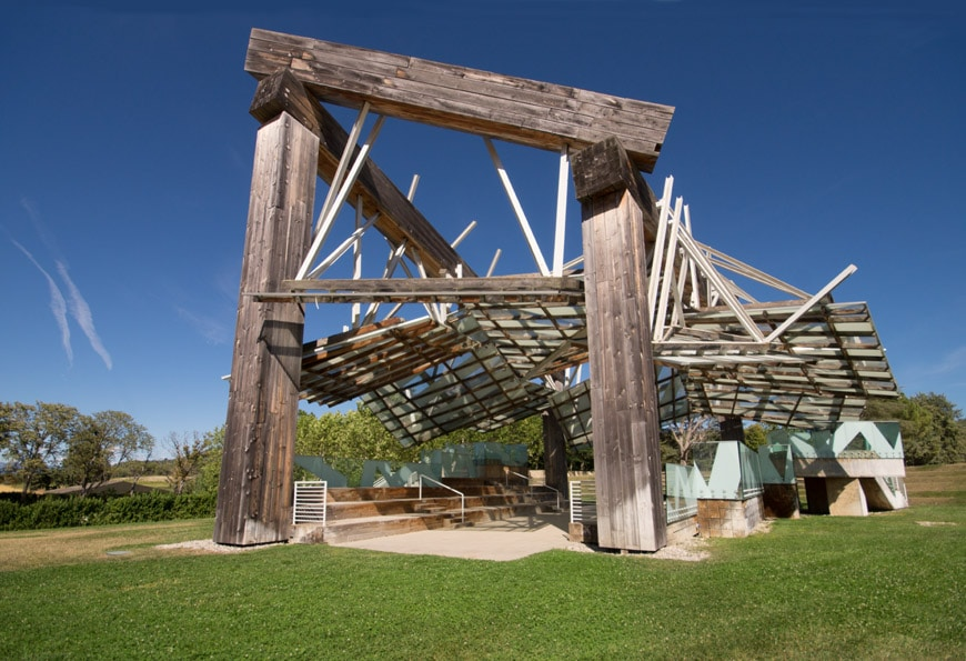 Frank Gehry Music pavilion Chateau La Coste France Inexhibit 3