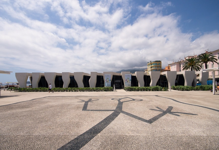 Musee Jean Cocteau Menton exterior architect Rudy Ricciotti Inexhibit 02s