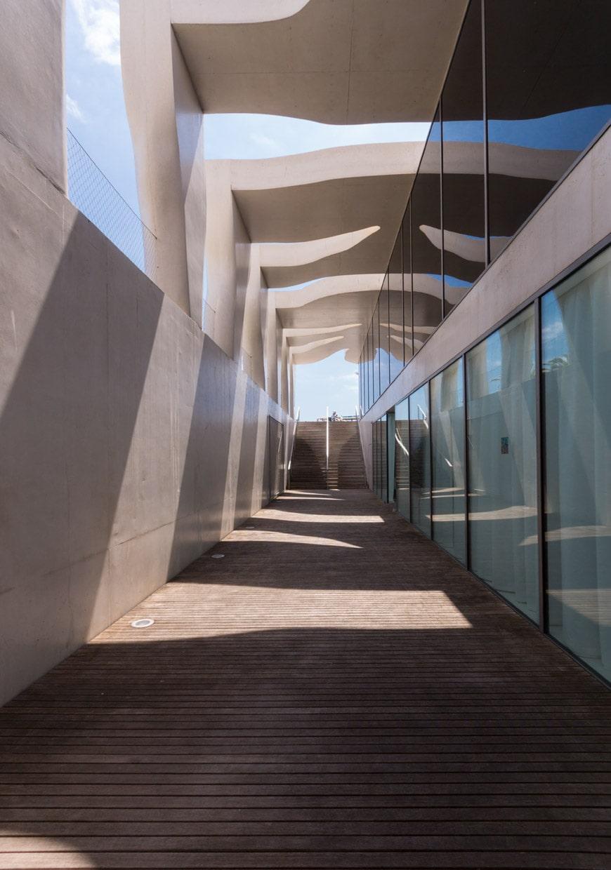 Musee Jean Cocteau Menton exterior architect Rudy Ricciotti Inexhibit 03s