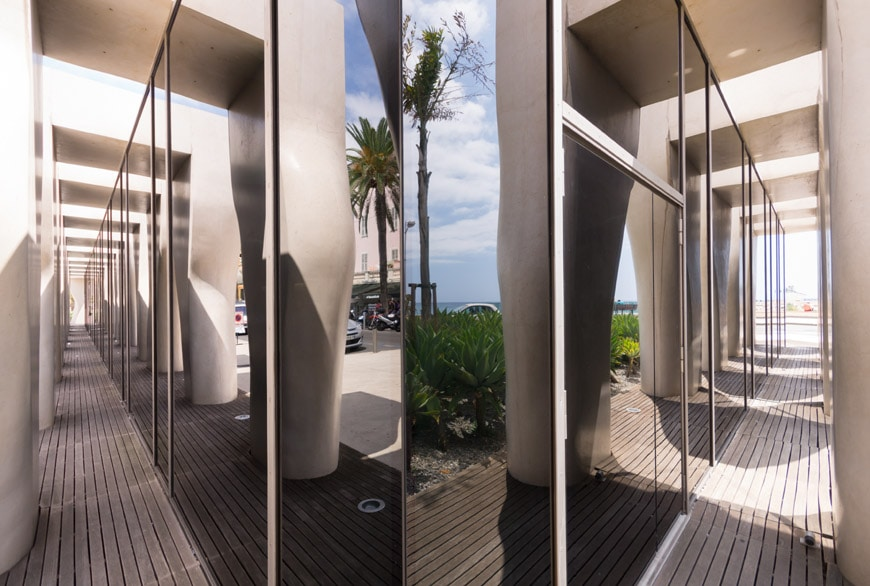 Musee Jean Cocteau Menton exterior architect Rudy Ricciotti Inexhibit 05s
