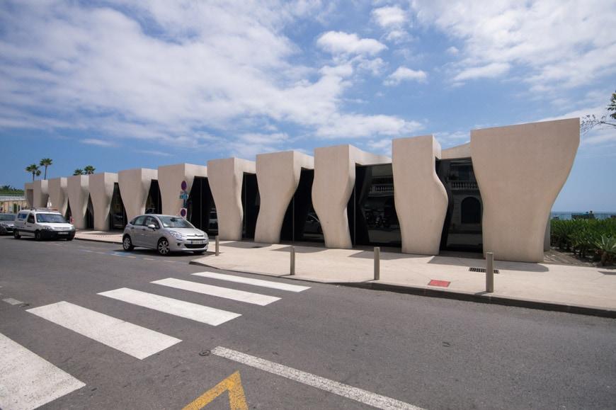 Musee Jean Cocteau Menton exterior architect Rudy Ricciotti Inexhibit 06s