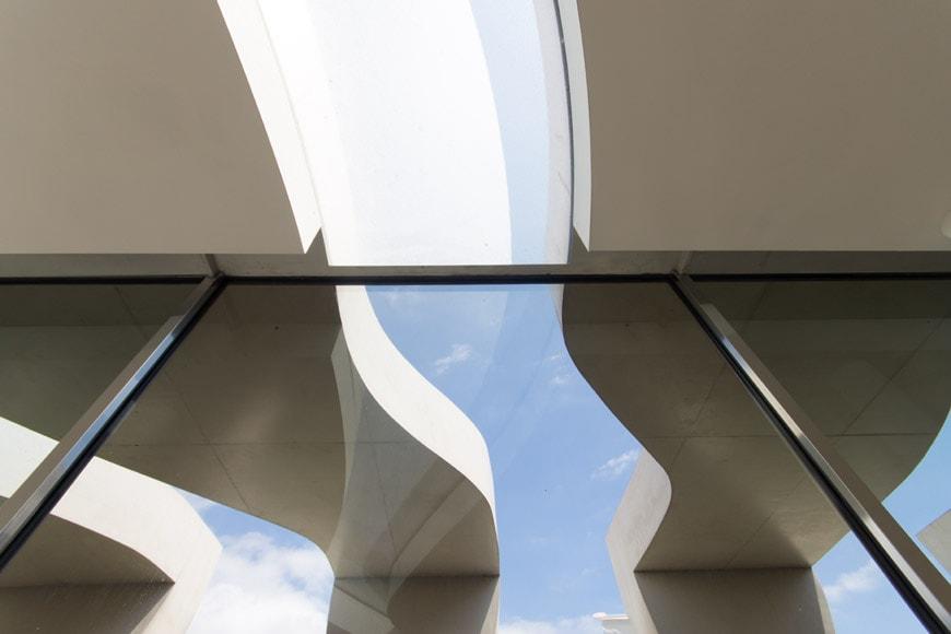 Musee Jean Cocteau Menton exterior architect Rudy Ricciotti Inexhibit 08s