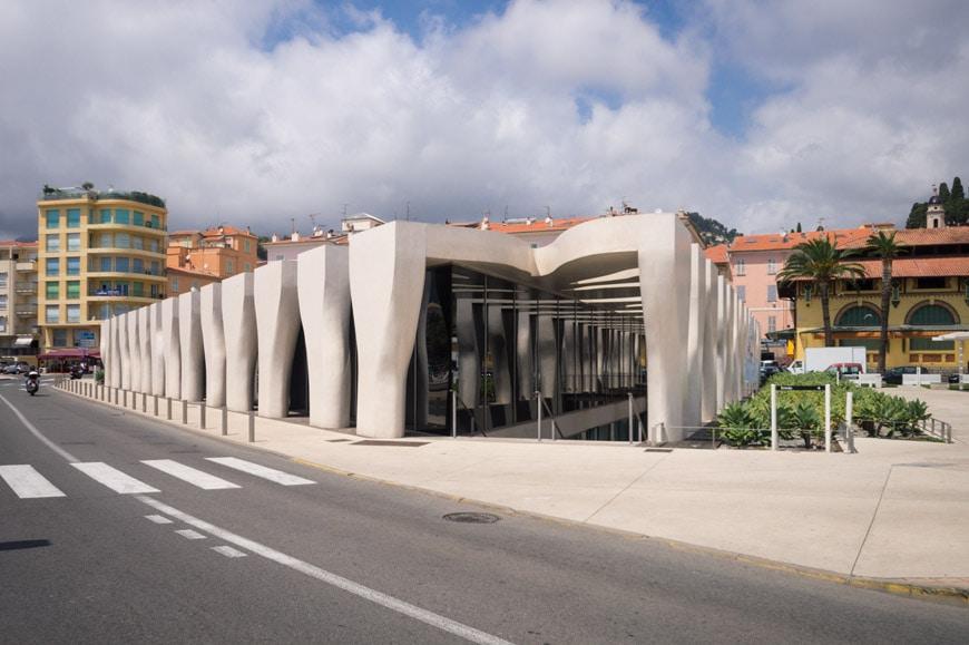 Musee Jean Cocteau Menton exterior architect Rudy Ricciotti Inexhibit 25s