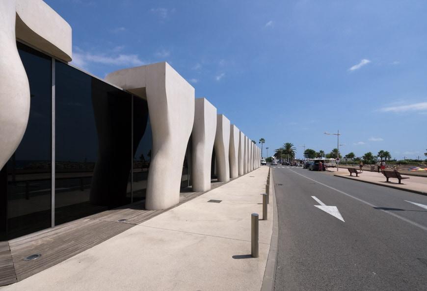 Musee Jean Cocteau Menton exterior architect Rudy Ricciotti Inexhibit 27s