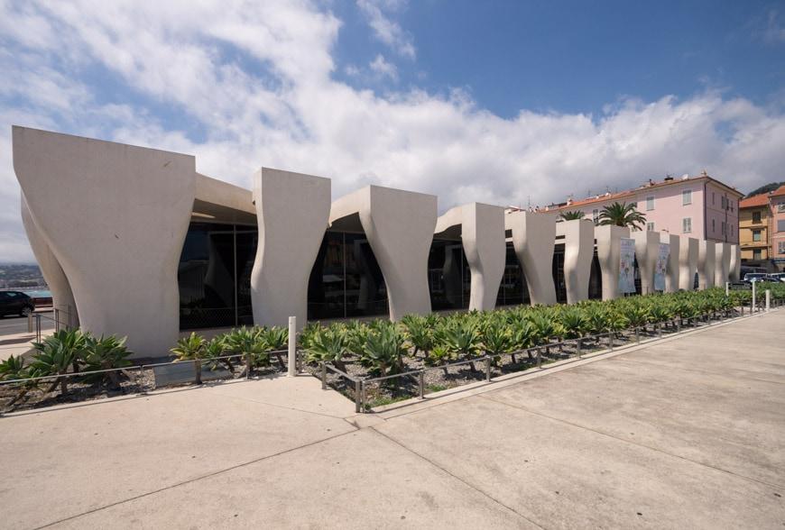 Musee Jean Cocteau Menton exterior architect Rudy Ricciotti Inexhibit 28s