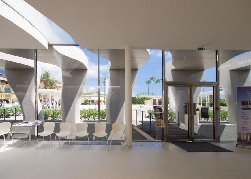 Musee Jean Cocteau Menton interior architect Rudy Ricciotti Inexhibit 14s
