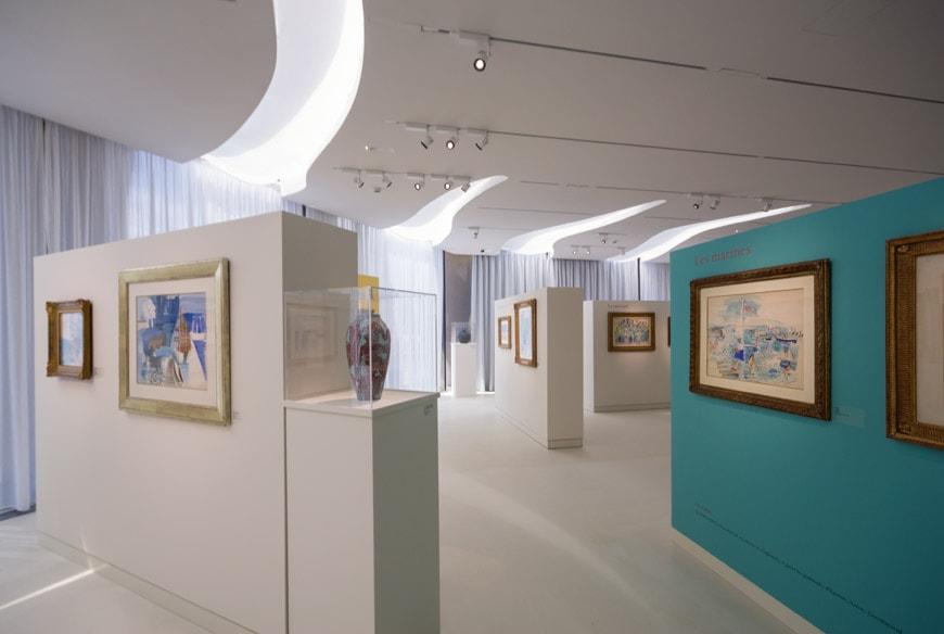 Musee Jean Cocteau Menton interior architect Rudy Ricciotti Inexhibit 19s