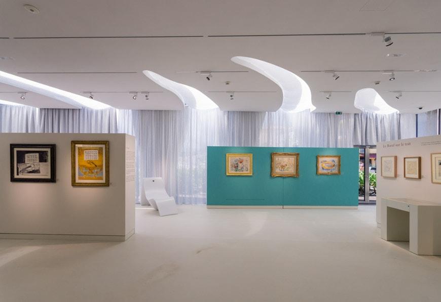 Musee Jean Cocteau Menton interior architect Rudy Ricciotti Inexhibit 20s