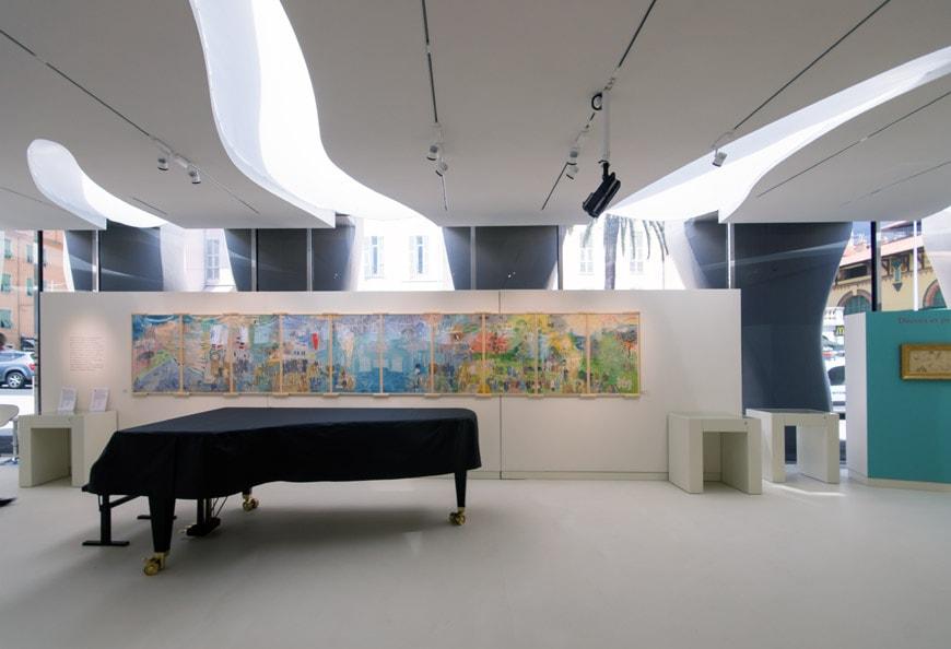Musee Jean Cocteau Menton interior architect Rudy Ricciotti Inexhibit 21s