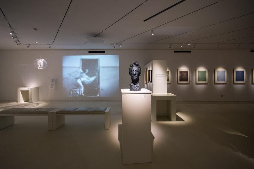 Musee Jean Cocteau Menton interior architect Rudy Ricciotti Inexhibit 22s