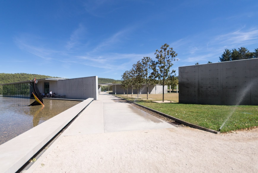 Tadao Ando Art Center Chateau La Coste France Inexhibit 6