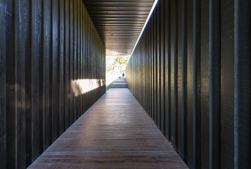 Tadao Ando Four Cubes wood pavilion Chateau La Coste France Inexhibit 4