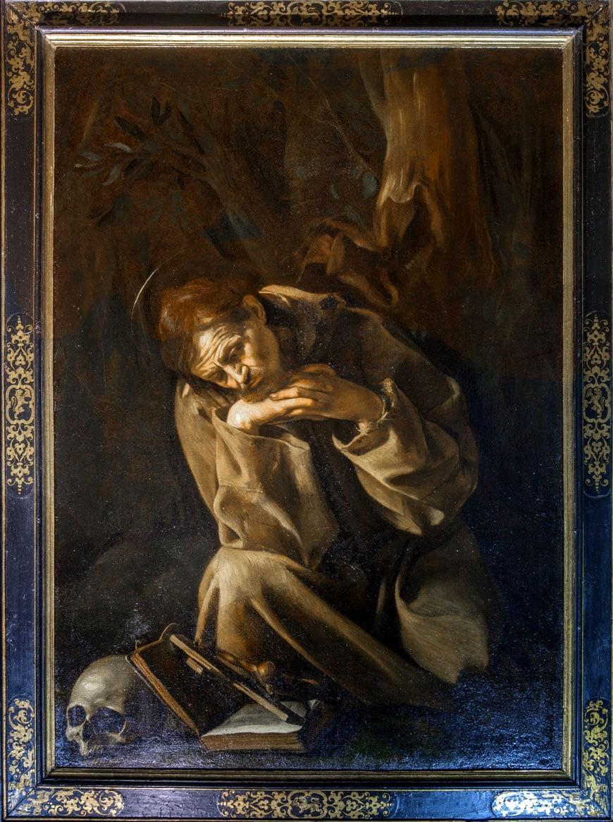 Caravaggio San Francesco Cremona Inexhibit