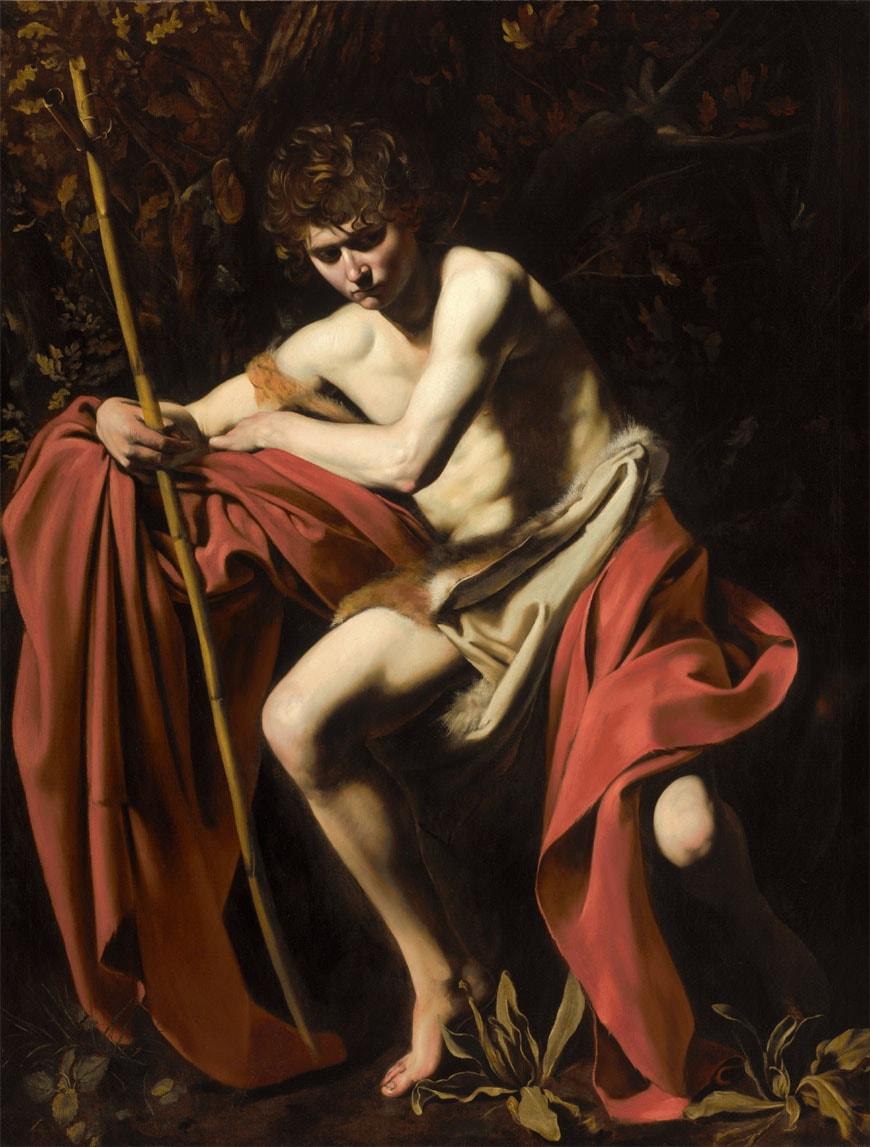 Caravaggio St. John Baptist Nelson-Atkins Museum of Art