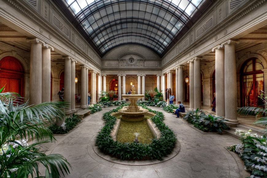 Frick Collection New York garden court 2