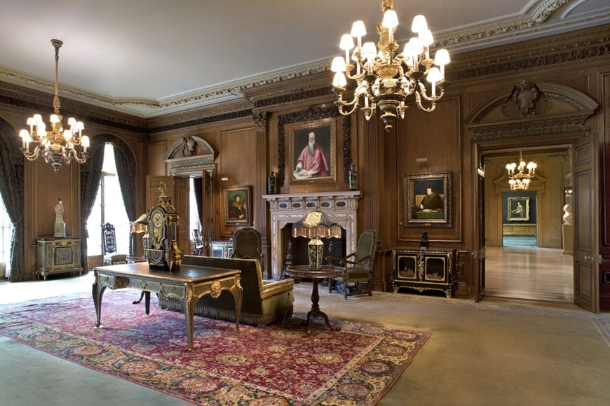 Frick Collection New York living hall