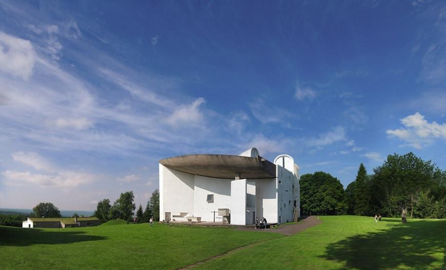 Le Corbusier Notre Dame du Haut Ronchamp Chapel 1