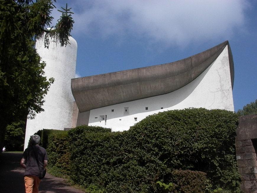 Le Corbusier Notre Dame du Haut Ronchamp Chapel Inexhibit 06