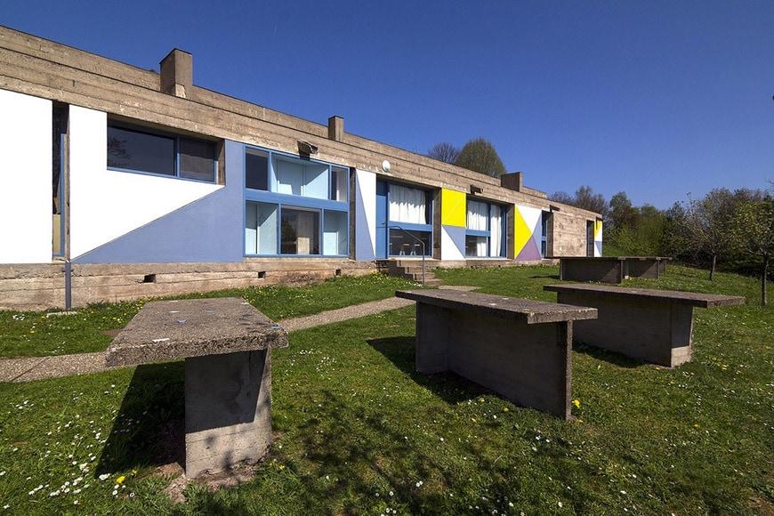 Le Corbusier Notre Dame du Haut Ronchamp guest house