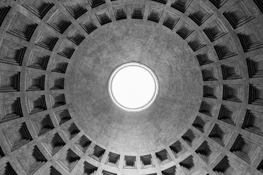 Pantheon Rome dome 1