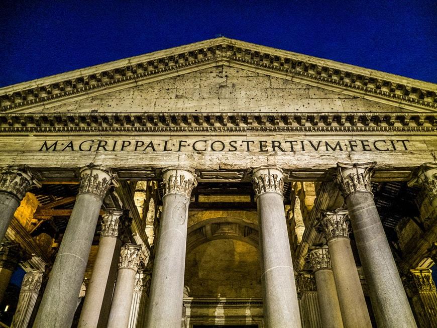 Pantheon Rome exterior 1