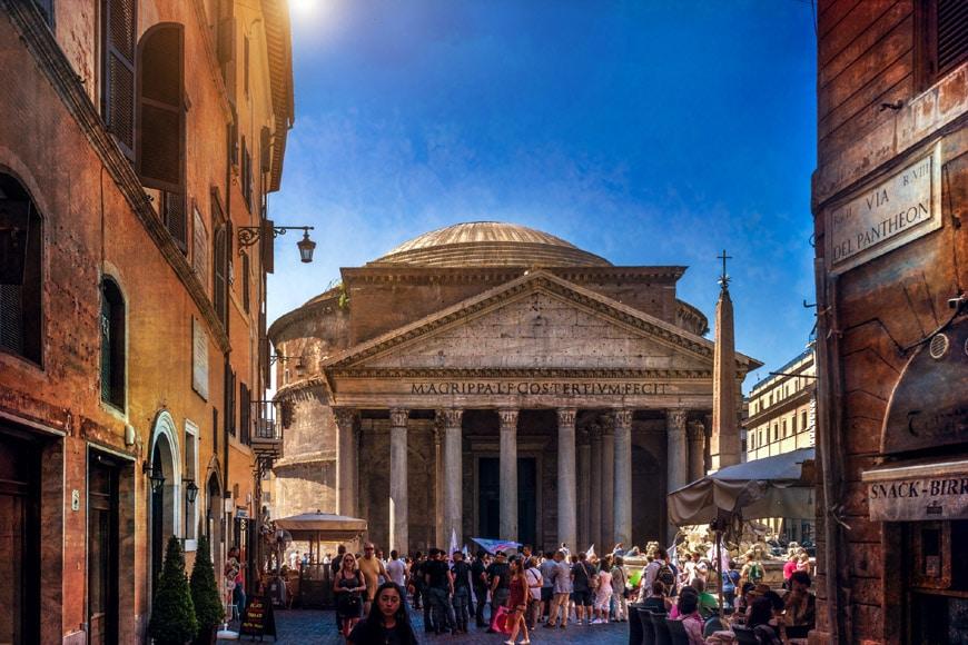 Pantheon Rome exterior 5