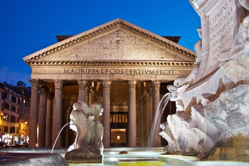 Pantheon Rome exterior 6