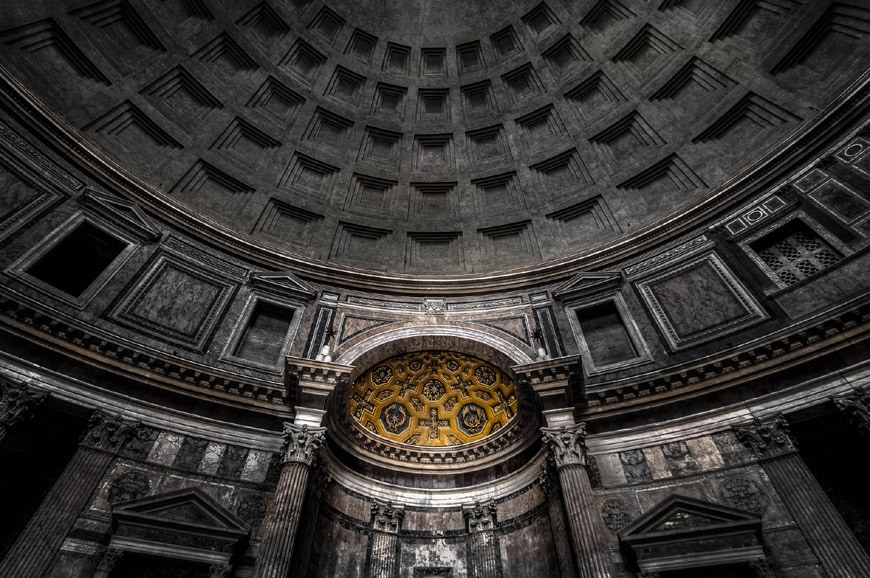 Pantheon Rome interior 1