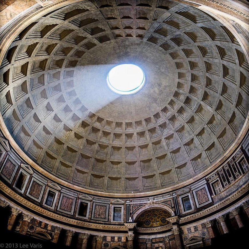 Pantheon Rome interior 3